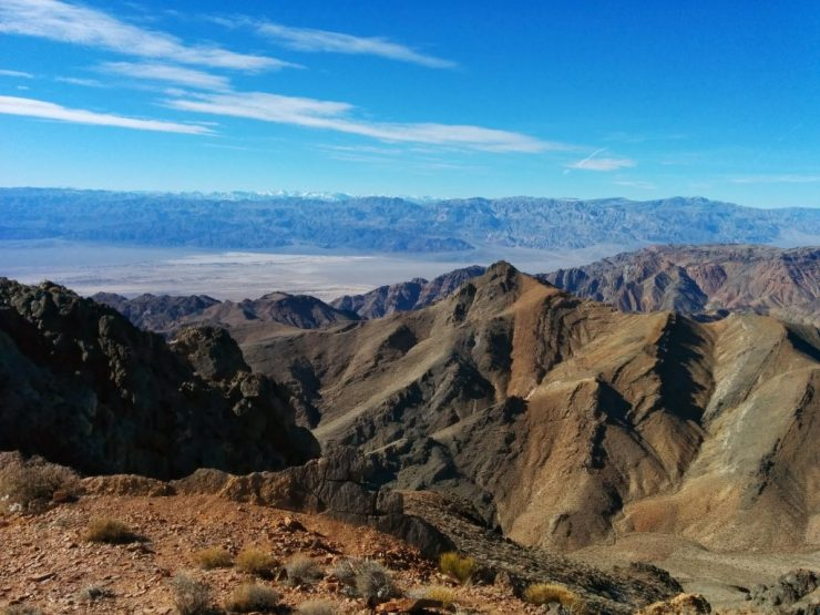 A view from the top of Corkscrew Peak