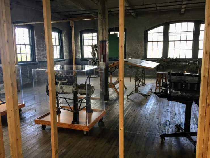 The room where Henry Ford designed Model T