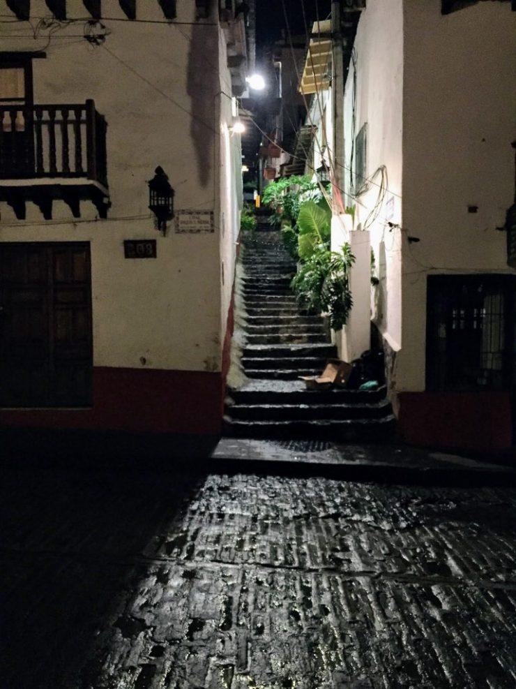 A street in Valle De Bravo