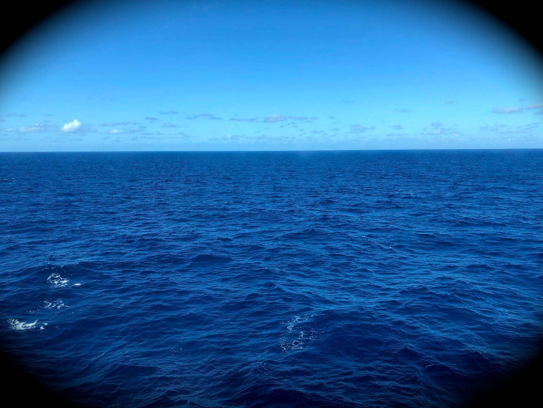 Vast and endless sea