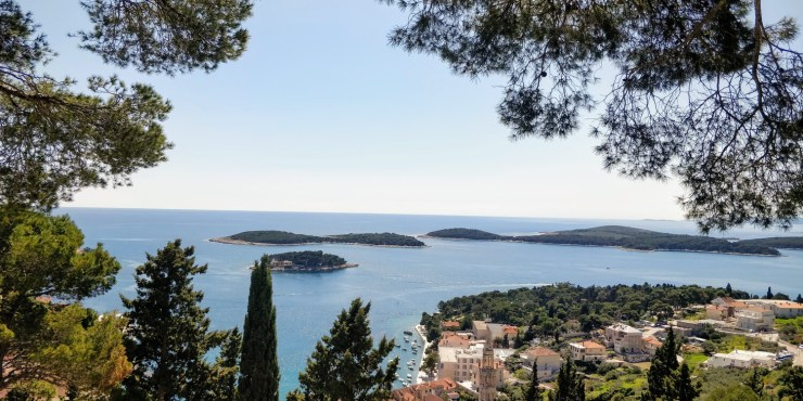 View of Hvar Island
