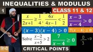 Inequalities & Modulus part 1 reduce