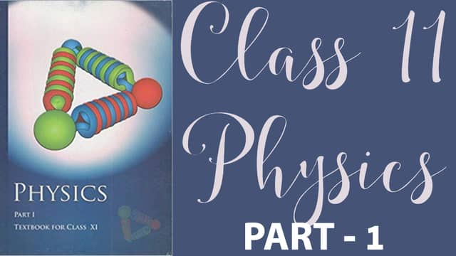 class 11 physics