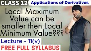 Lecture 11 Applications of Derivatives Class 12 4