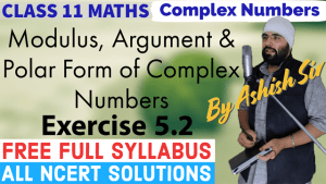 Complex Numbers Lecture 2