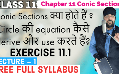 Exercise 11.1 Chapter 11 Conic Sections Class 11 Maths