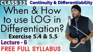 Continuity and Differentiability Lecture 6