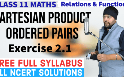 (Part – 1) Exercise 2.1 Chapter 2 Relations and Functions