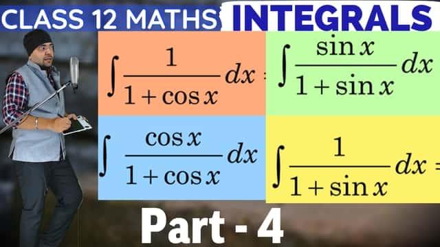 Integrals Lecture 1 Part 4