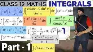 Integrals Lecture 1 Part 1