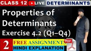 Determinants Lecture 2