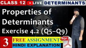 Determinants Lecture 3