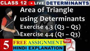 Determinants Lecture 5
