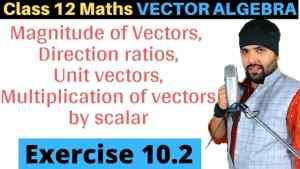 Vector Algebra Lecture 2 640 x 360