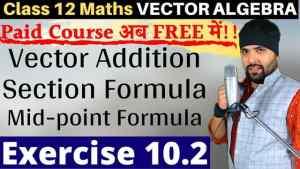 Vector Algebra Lecture 4 640 x 360