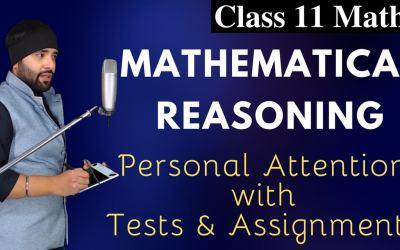 Mathematical Reasoning Class 11 Maths