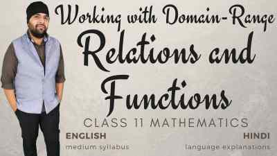 Relations and Functions Class 11 Maths Course 2 width 1200px