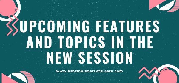 Upcoming Topics