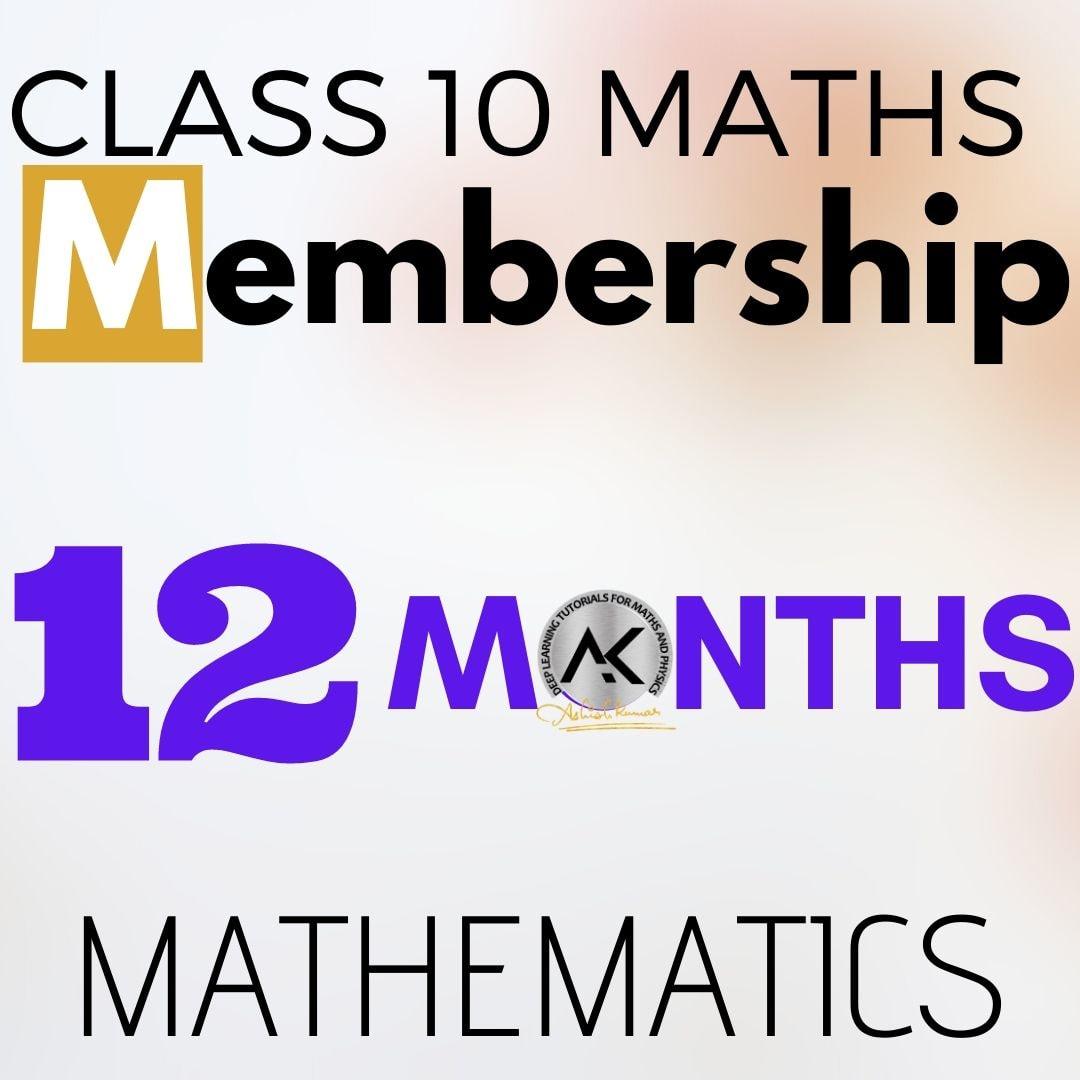 Class 10 Maths Membership 12 months 1080px