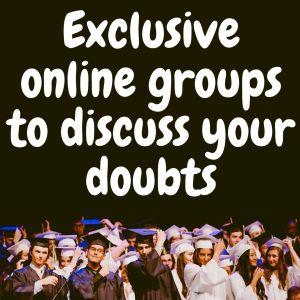 Exclusive online groups