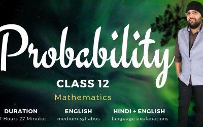 Ch13. Probability – 90D