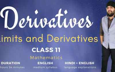 Ch13. Derivatives (Limits and Derivatives Part-2)