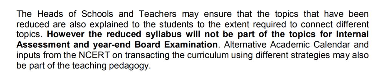 cbse notification regarding syllabus