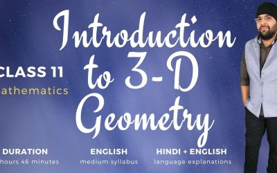 Ch12. Introduction to three dimensional geometry