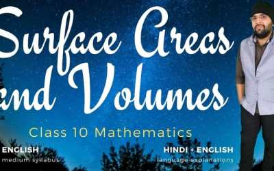 Ch13. Surface Areas and Volumes – 1Y
