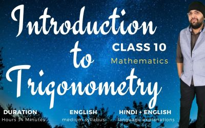 Ch8. Introduction to Trigonometry – 1Y
