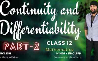 Ch05. Continuity and Differentiability (Differentiability Assignment – 3) Class 12 Assignments – 90D