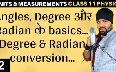 L2 – Basics of Angles Units and Measurements