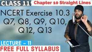 10. Straight Lines 11