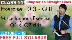 10. Straight Lines 13