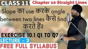 10. Straight Lines 3