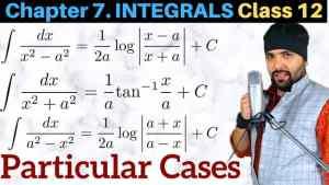 7. Integrals 3