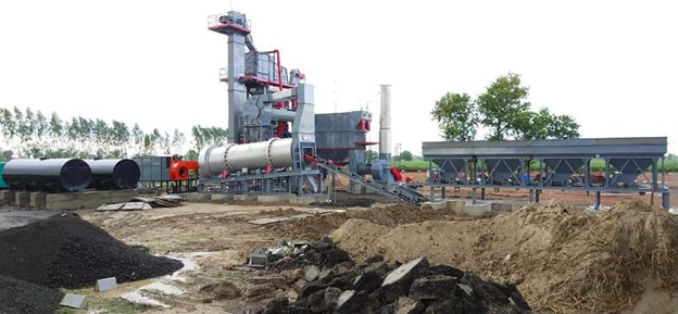 ASPHALT BATCHMIX PLANT INSTALLED AT UDAIPUR