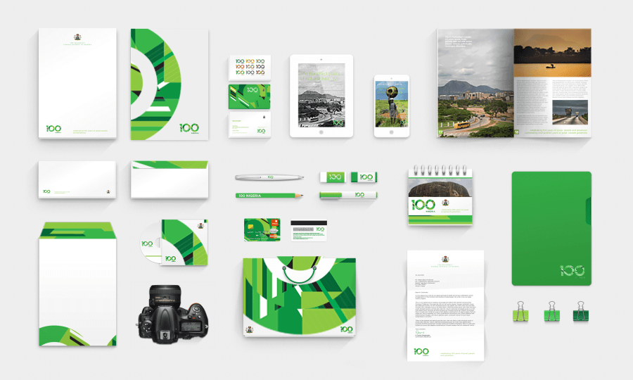 Nigeria at 100 redesign Corporate Identity