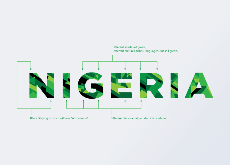 Nigeria at 100 redesigned logo explained
