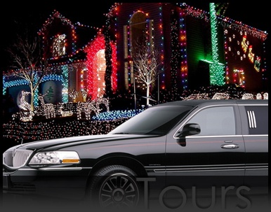 Design Your Own Custom Holiday Christmas Lights Tour any Night of the week in December !