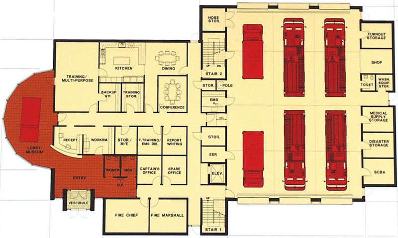 City Council Reviews Fire Station Design Schemes