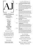 Ashlee Johnson Resume