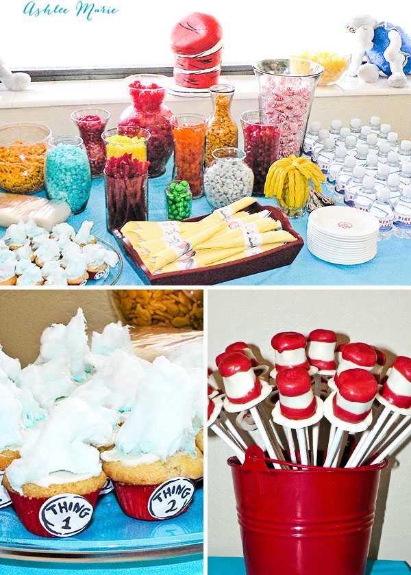 Dr Seuss 3rd Birthday Party Ashlee Marie Real Fun With Real Food