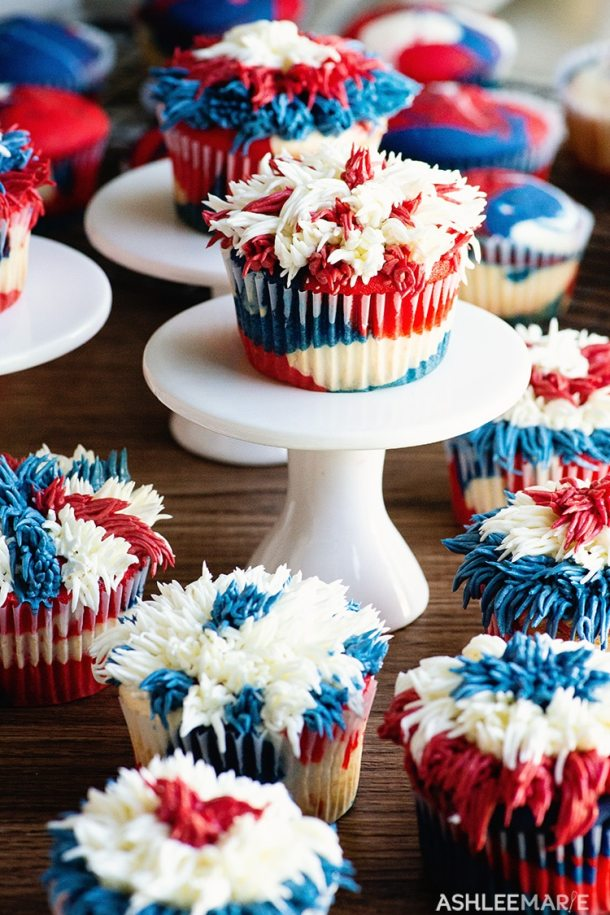4th of July cupcake recipes