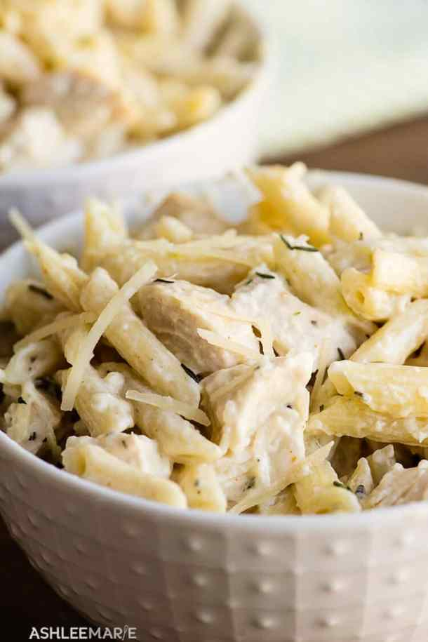 cheesey chicken penne pasta recipe