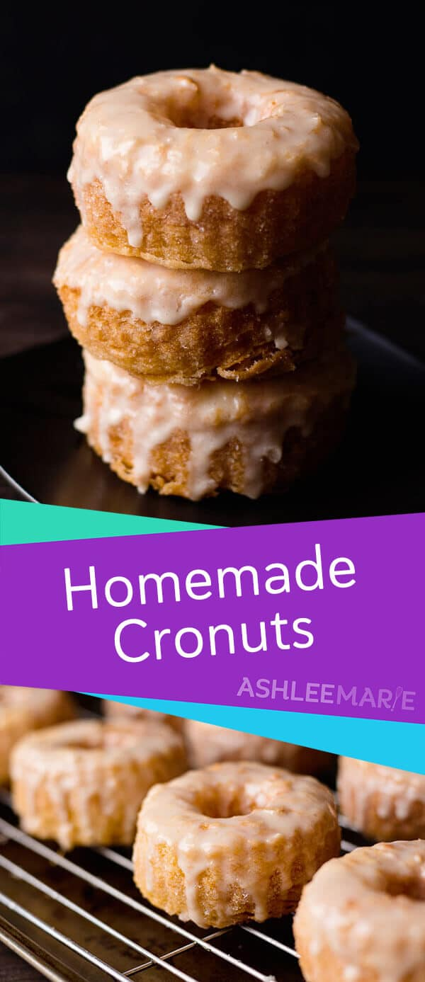 homemade cronut recipe and video tutorial