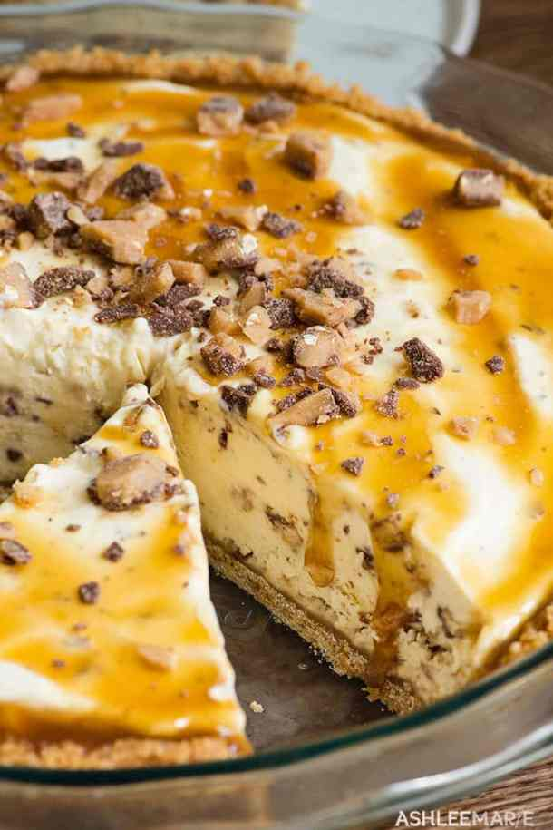 toffee ice cream pie recipe