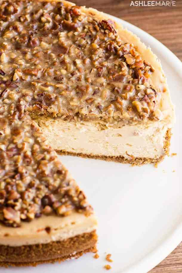 maple bacon cheesecake recipe and video
