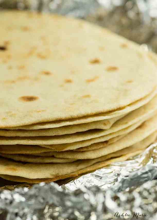 a quick and easy video tutorial for making your own flour tortillas