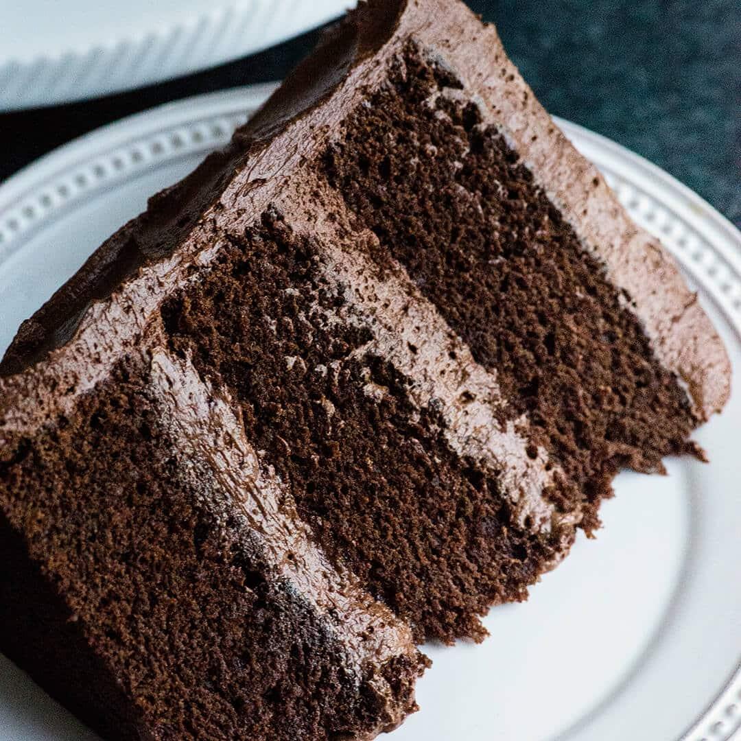 Perfect Chocolate Cake Recipe With Ganche Buttercream
